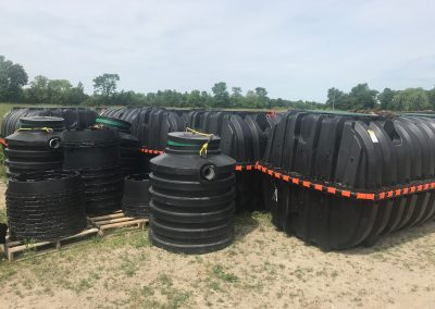 Septic tanks & pump chambers inventory