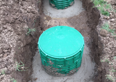Upgrade of existing septic tank to current code standards