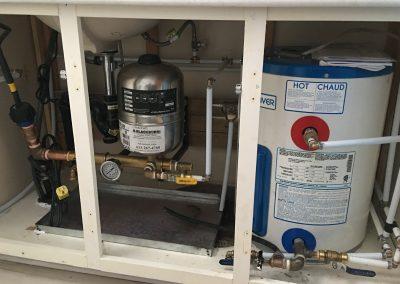Small Pressure system installation