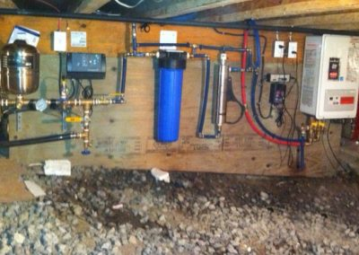 pressure system & water treatment-small area install